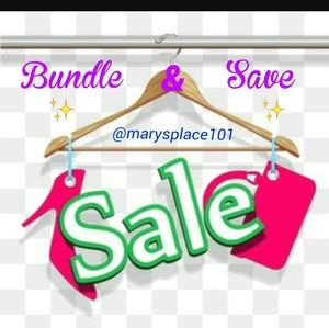 Other - Bundle Your Likes & Save Shipping Cost!!!